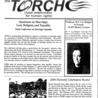 TOHR Torch, August-September 2004, Vol3, Issue4